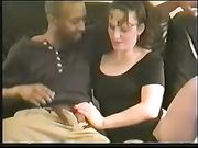 Real Homemade Cuckold Married Woman Sucking Black Cock